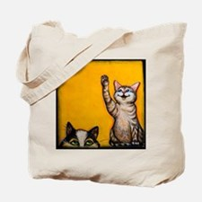 Calico Cat Kitten Tote Bag
