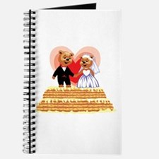 Wedding Teddy's T-shirts and Gifts Journal