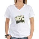 Nature's Loser Value Women's V-Neck T-Shirt