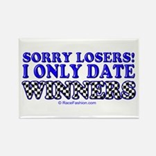 winners only 1 Rectangle Magnet