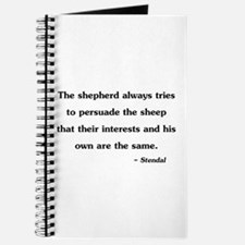 Stendal Quote Journal