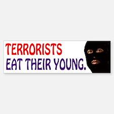 Terror Bumper Bumper Bumper Sticker