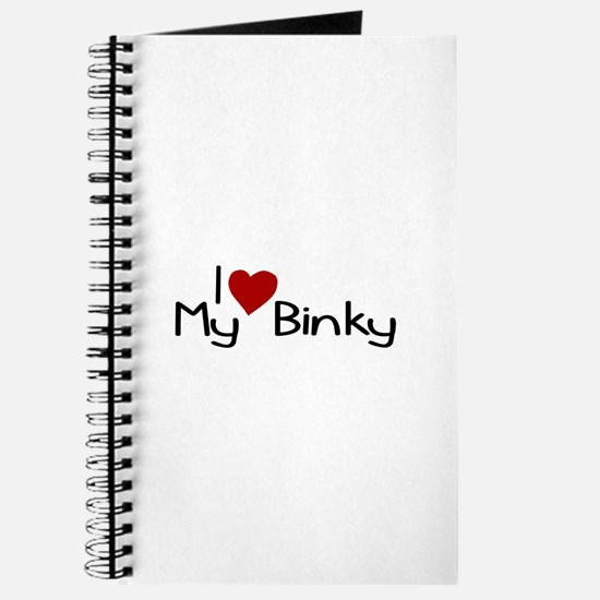 I Love My Binky (Pacifier) Journal