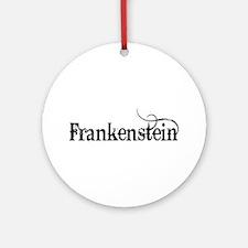 Frankenstein Ornament (Round)