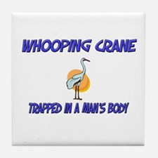 Whooping Crane Trapped In A Man's Body Tile Coaste