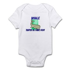 Whale Trapped In A Man's Body Infant Bodysuit