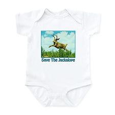Save The Jackalope Infant Bodysuit