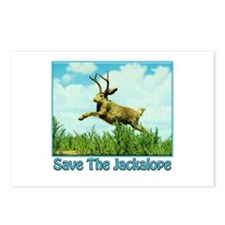Save The Jackalope Postcards (Package of 8)