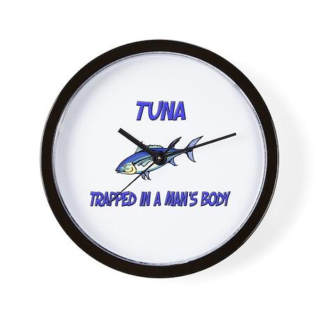Tuna Trapped In A Man's Body Wall Clock