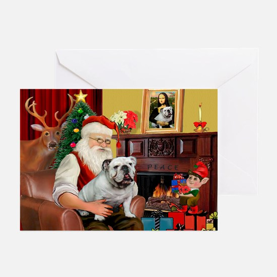 Santa's white EBD Greeting Cards (Pk of 10)