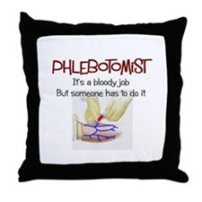 Phlebotomist Throw Pillow