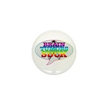 Brain Tumors Suck Mini Button (10 pack)