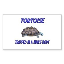 Tortoise Trapped In A Man's Body Decal