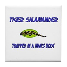 Tiger Salamander Trapped In A Man's Body Tile Coas