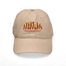 Dragon Ninja Didgeridooist Baseball Cap