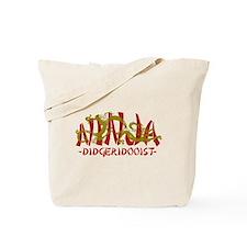 Dragon Ninja Didgeridooist Tote Bag