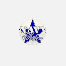Blue star families Mini Button