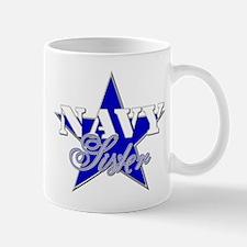 Unique Blue star mom Mug