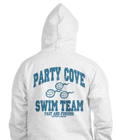 Party Cove Swim Team Hoodie