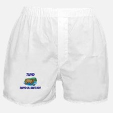 Tapir Trapped In A Man's Body Boxer Shorts