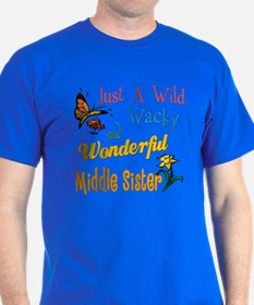 Wild Wacky Middle Sister T-Shirt