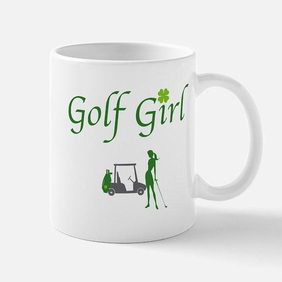 Lucky Golf Girl - Mug