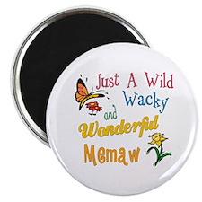 Wild Wacky Memaw Magnet