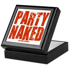 Party Naked! Keepsake Box