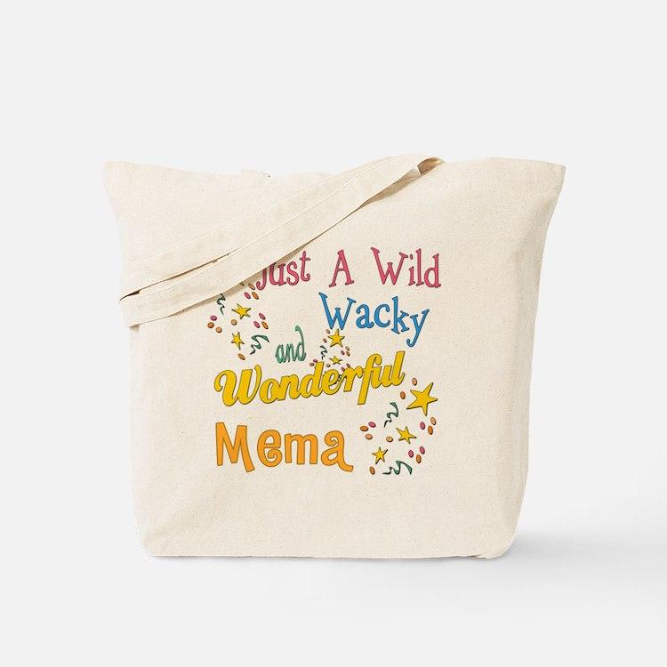 Wild Wacky Mema Tote Bag