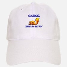 Squirrel Trapped In A Man's Body Baseball Baseball Cap