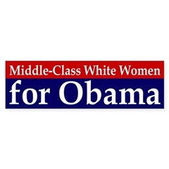 Middle-Class White Women for Obama