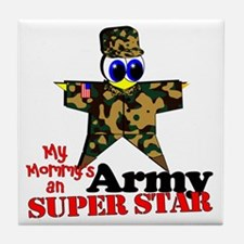 Mommy Army Tile Coaster