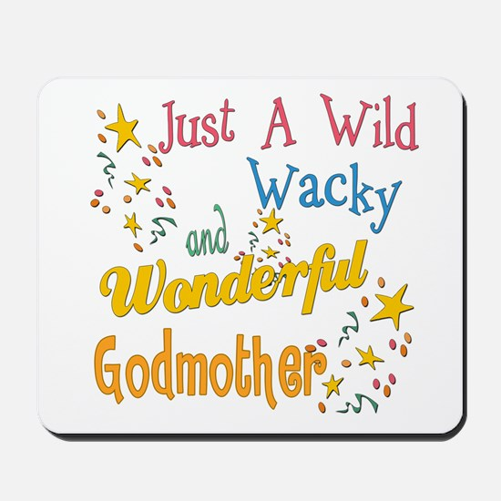 Wild Wacky Godmother Mousepad