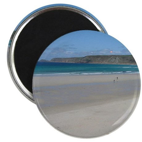 "Sennen Cove Cornwall 2.25"" Magnet (10 pack)"