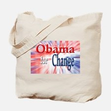 Obama for Change Tote Bag