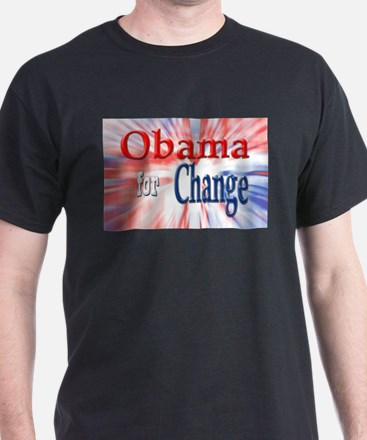 Obama for Change T-Shirt