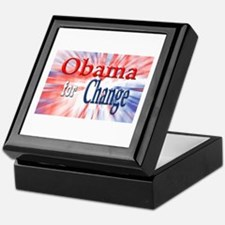Obama for Change Keepsake Box