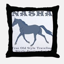 Old Time Traveling Throw Pillow