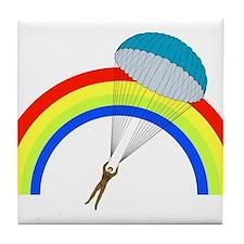 Parachuting Tile Coaster