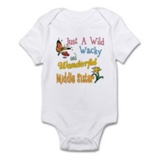 Wild Wacky Middle Sister Infant Bodysuit