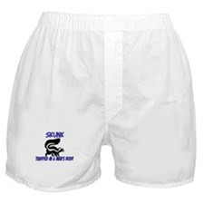 Skunk Trapped In A Man's Body Boxer Shorts