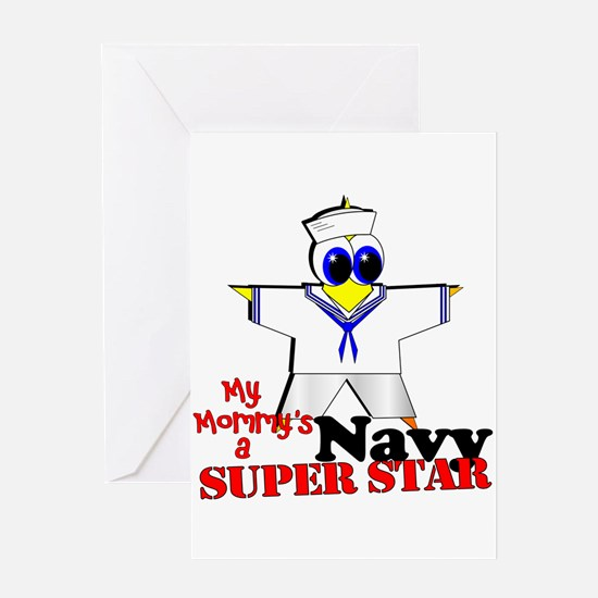 Mommy Navy Greeting Card