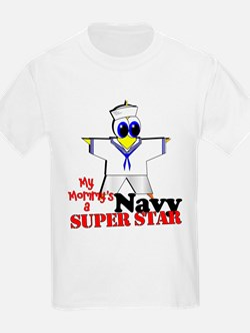 Mommy Navy T-Shirt