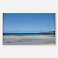Sennen Cove, Cornwall Rectangle Decal