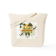 Palm Tree New Zealand Tote Bag