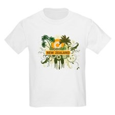 Palm Tree New Zealand T-Shirt