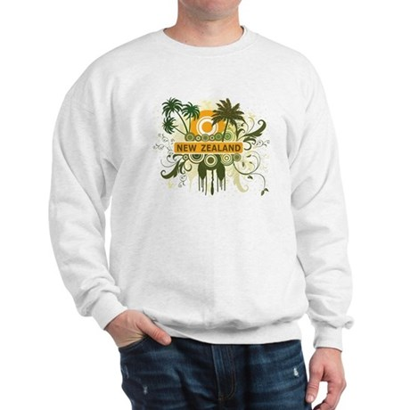 Palm Tree New Zealand Sweatshirt