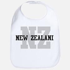 NZ New Zealand Bib