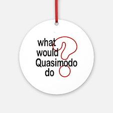 Quasimodo Ornament (Round)