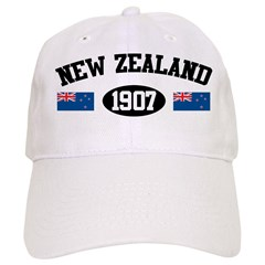 New Zealand 1907 Baseball Cap